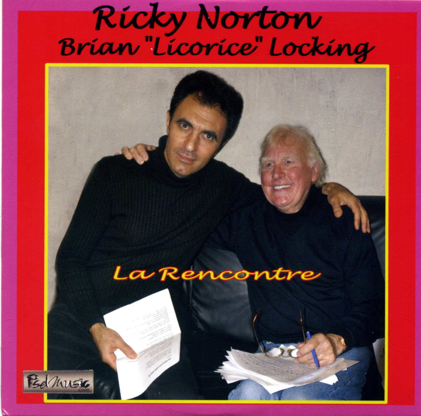 cd couv Ricky Norton et Brian Licorice Locking 2012